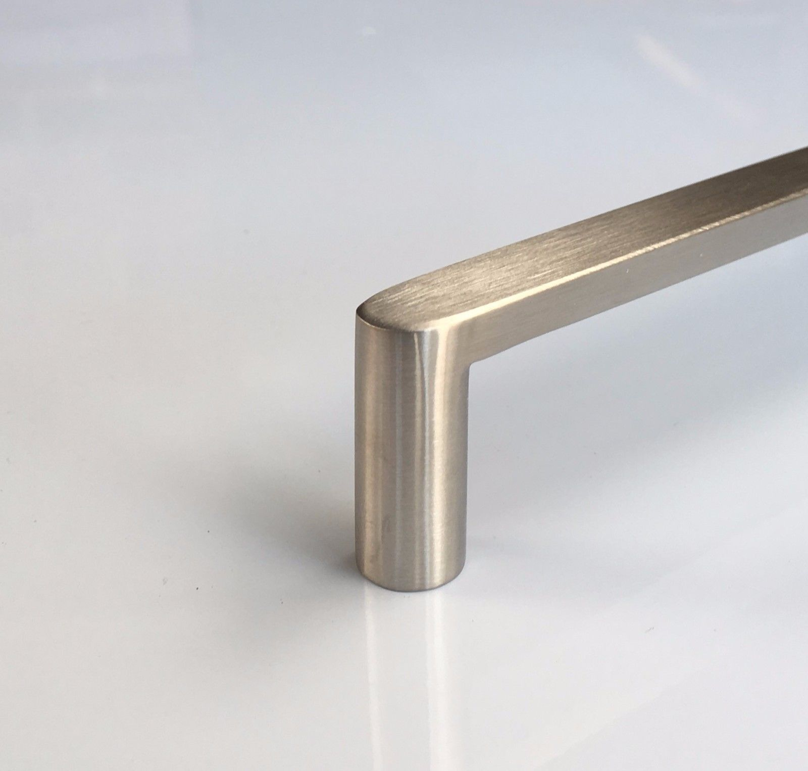 Solid stainless steel brushed kitchen cabinet door drawer for Stainless steel cabinet door